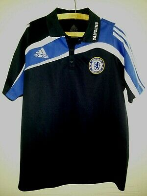 Chelsea FC Football Jersey Polo Shirt 2009 Original Adidas Soccer Top Mens Size • 34.99£