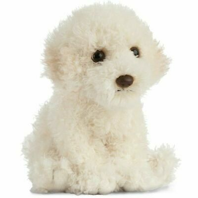Living Nature Labradoodle Puppy Soft Toy Kids Realistic Cuddly Plush Teddy 16cm • 12.49£