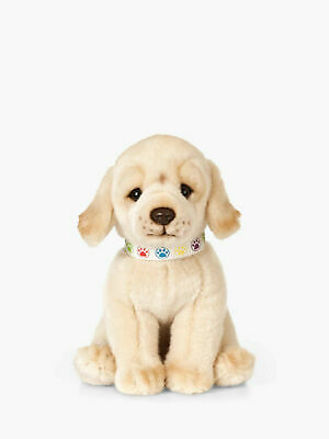 New Living Nature Plush Golden Labrador Puppy An526 Cuddly Soft Toy Dog Teddy • 15.99£