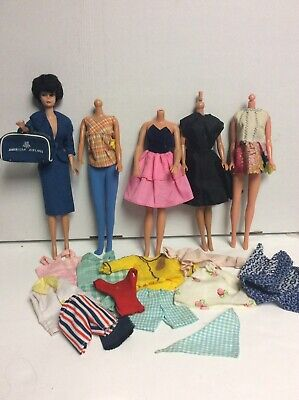 $ CDN39.55 • Buy  Vintage Bubble Cut Barbie Doll With American Airlines Outfit  & Extra Clothes