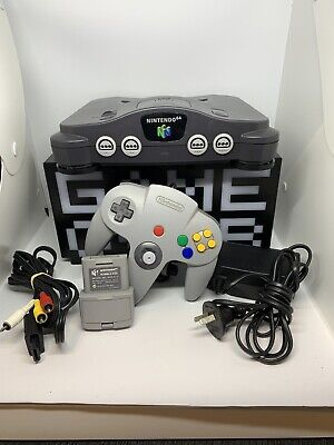 AU199 • Buy Nintendo 64 Console Complete With Rumble Pak