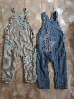 Baby Boys Next Dungarees Size 12-18 Months • 5.50£