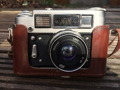 Old Rare Russian Camera With Leather Case  • 60£