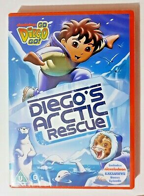 £2.95 • Buy Go Diego Go - Diego's Arctic Rescue DVD NEW And SEALED Kids TV SHOW