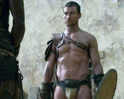 ANDY WHITFIELD Spartacus SHIRTLESS NEW  8X10 GLOSSY PHOTO ZBP 71 • 7.06£