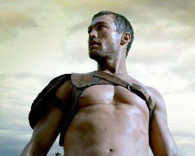 ANDY WHITFIELD Spartacus SHIRTLESS NEW  8X10 GLOSSY PHOTO ZBP 66 • 7.06£