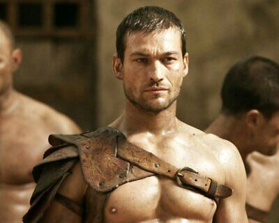 ANDY WHITFIELD Spartacus SHIRTLESS NEW  8X10 GLOSSY PHOTO ZBP 70 • 7.06£