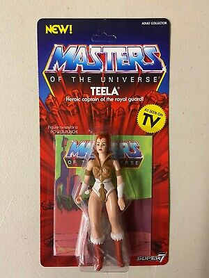$27.53 • Buy Super7 Masters Of The Universe TEELA Action Figure MOTU MOC