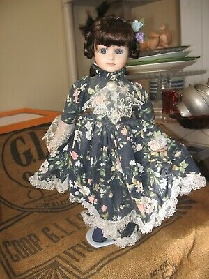 $ CDN6.38 • Buy Porcelain 17  Doll With Stand