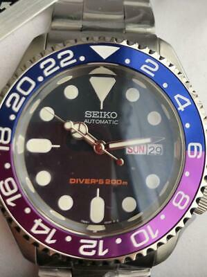 $ CDN1156.06 • Buy Seiko Divers Day Date SKX009 Navy Boy Custom Automatic Mens Watch Auth Works