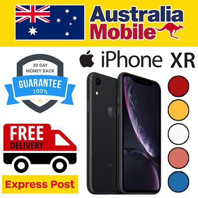 AU519 • Buy Apple IPhone XR 256GB 128GB 64GB AS NEW EXCELLENT UNLOCKED SMARTPHONE AU STOCKED
