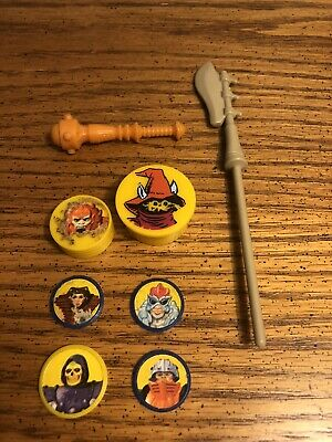 $16.50 • Buy VTG 1980's HE-MAN MASTERS OF THE UNIVERSE STAFF AXE WEAPON ORIGINAL PIECE PARTS