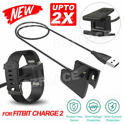 AU9.85 • Buy USB Charging Cable Charger Lead For Fitbit CHARGE 2 Fitness Tracker Wristband AU