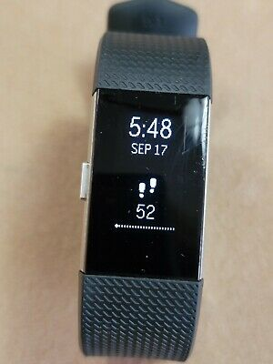 $ CDN2.97 • Buy Fitbit Charge 2 - Large - Black ~ Fitness Wristband - Used ~ No Box