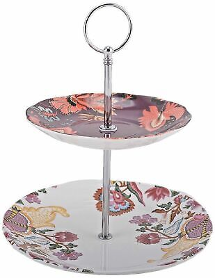Creative Tops V & A Inspired   Toile   2 Tier Cake Stand - New & Boxed • 17.99£