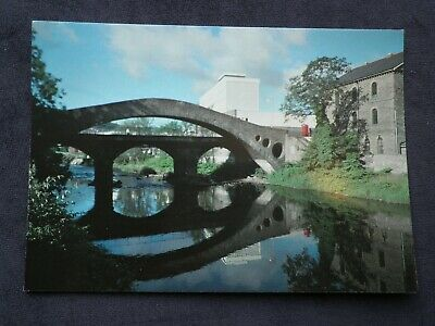 Welsh Postcard Of The Old Bridge At Pontypridd  • 2.99£