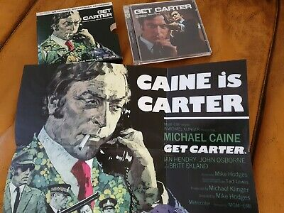 Get Carter Soundtrack CD Special Edition With Poster. • 4£