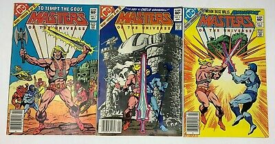 $79.99 • Buy DC Comics MASTERS OF THE UNIVERSE 1-3 Comic Book Limited Series Set VF (1982)