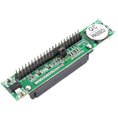 SATA Female To 44Pin 2.5 IDE Male HDD Adapter Converter IDE Adapter UK • 6.87£