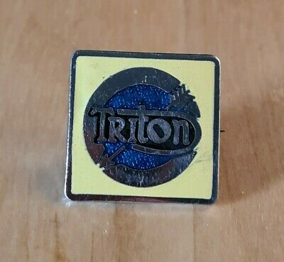 Vintage Triton Motorcycle Bike Badge • 4.99£