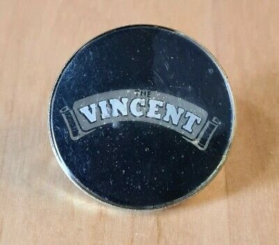 Vintage Vincent Motorcycle Bike Badge • 2.99£