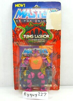 $205 • Buy MOTU, Tung Lashor, Masters Of The Universe, MOC, Carded, Figure, He Man, Sealed