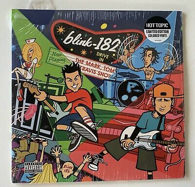 BLINK 182 Mark, Tom & Travis Show LP Colored  X 2 Vinyl Sealed New • 65.12£