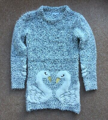 Blue Zoo Tunic Style Woolen Top To Fit Age 8-9 Years • 2.99£