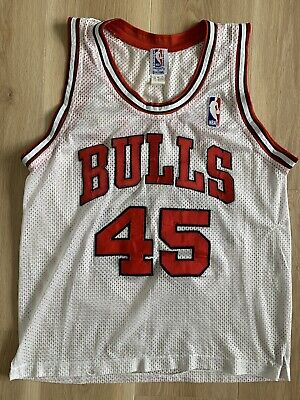 AU50 • Buy Vintage 1990s Spalding NBA Chicago Bulls Michael Jordan Number 45 Jersey
