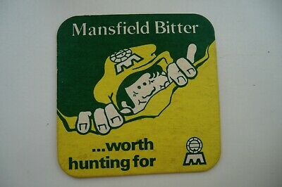 £1 • Buy Mansfield Bitter Worth Hunting For Brewery Beer Mat