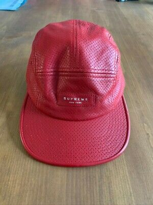 $ CDN22.80 • Buy Supreme 5 Panel Strapback Hat Patent Leather Cap
