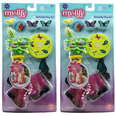 £9.37 • Buy My Life As Butterfly Play Set Boots W/ Wings Life Cycle Educational Open Package
