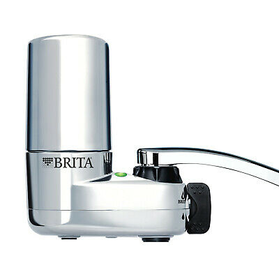 BRITA On Tap Faucet Mount WATER FILTRATION SYSTEM Chrome FILTER HIGH QUALITY • 28.60£