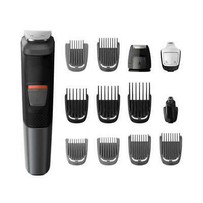 AU56.53 • Buy Philips Norelco Multigroom 5000 FACE & HEAD ALL-IN-1 GROOMER Hair Beard Trimmer