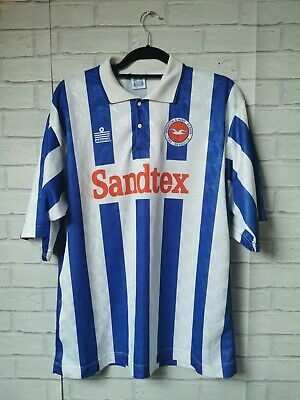 Brighton And Hove Albion 1994-1997 Home Admiral Football Shirt (adult X Large)  • 150£