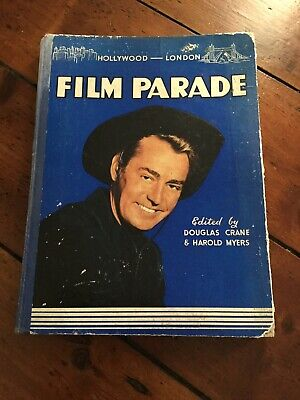 1940's Film Parade Hollywood London Book Stars Vintage Old Hollywood Has Wear • 5.50£