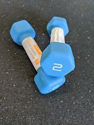 $ CDN0.01 • Buy CAP Barbell 2lb Neoprene Hex Dumbbells, Pair (2), 4lb Total