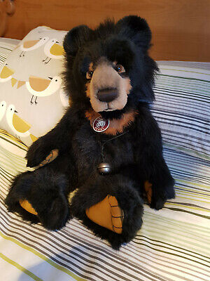 CHARLIE BEARS Malcolm 2009 Plush Collection Retired & Sold Out With Bag & Tags • 80£