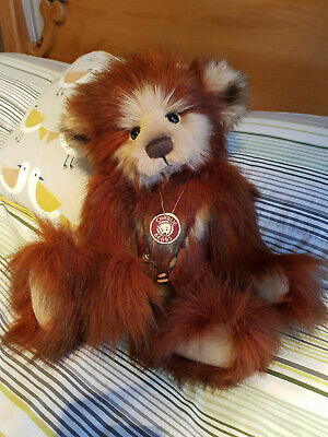 Retired Charlie Bear RULA Collectable Quality Plush Teddy With Tags • 25£