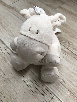 Mamas And Papas Cuddly Donkey Baby Soft Toy In Cream - Immaculate Condition! • 4£