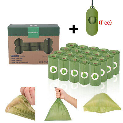 £7.49 • Buy Biodegradable Dog Poo Bags Scented Extra Strong And Holder Dispenser With Clip