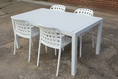 AU1299 • Buy Chelsea - 5 Or 7 Piece Outdoor Setting - Aluminium Table With Polyresin Chairs