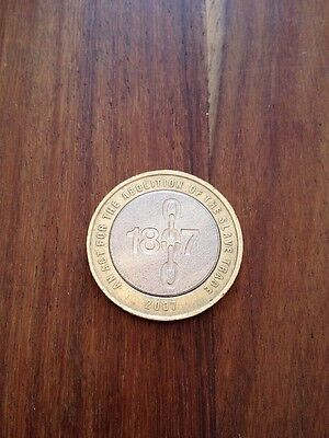 £2 Two Pound Coin, Abolition Of Slavery 1807-2007 • 3.23£