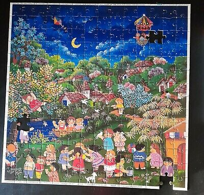 $ CDN25.20 • Buy Puzzle UNICEF Jigsaw, Vintage, Missing 3 Pieces