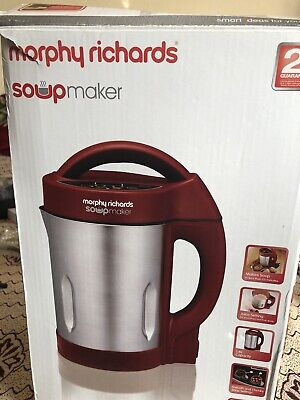 Morphy Richards Soup Maker New Never Used Box Bit Tatty Box Has Been Opened • 11£
