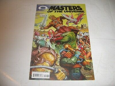 $125 • Buy Masters Of The Universe 1C Cover C Gold Variant 9.8  MINT! 2002 -Unread!