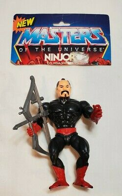 $49.99 • Buy He-Man MOTU Ninjor Action Figure With Tech Bow 1983 Masters Of The Universe VTG