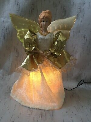 Christmas Magic Fibre Optic Angel Colour Changing Moving Wings Decoration • 29.99£