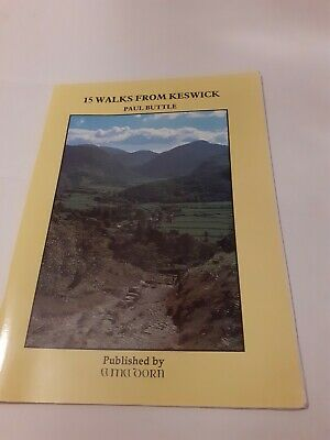 Fifteen Walks From Keswick - Buttle, Paul - 1993 • 7£