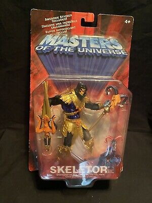 $29.99 • Buy Masters Of The Universe 2001 Skeletor Rare Metallic New **FREE SHIPPING*